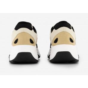 Nik en Nik Lavas sneaker in de kleur zand/zwart/ecru