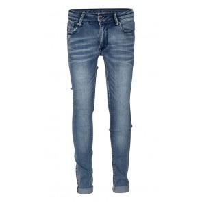 Indian blue jeans blue brad super skinny fit jeans in de kleur jeansblauw