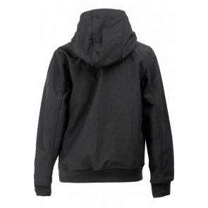 Airforce kids zomerjas softshell jacket chestpocket in de kleur true black zwart