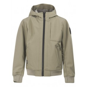 Airforce kids zomerjas softshell jacket chestpocket in de kleur silver sage