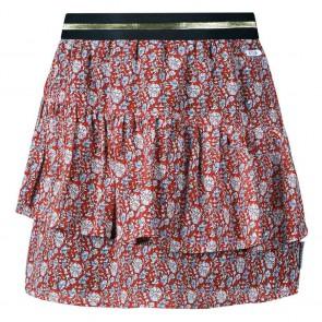 Retour jeans girls rok Vera met bloemenprint in de kleur brique/multicolor