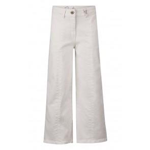 Retour jeans kids girls broek Merle met wijde pijp in de kleur off white
