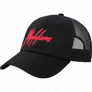 Malelions junior kids cap pet in de kleur zwart/rood