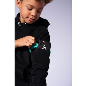 Black Bananas kids junior sweater trui JR Captain hoody in de kleur zwart