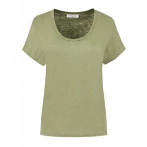 Circle of trust girls Archie tee shirt in de kleur in de kleur olijf groen