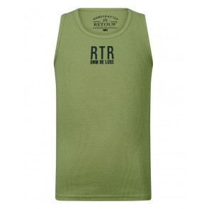 Retour jeans kids girls hemd top Sheila in de kleur olijf groen
