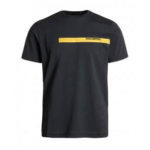 Parajumpers kids junior tape tee boys t-shirt  in de kleur antraciet grijs
