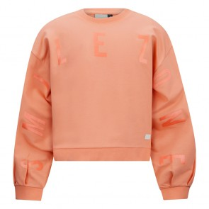Retour jeans girls cropped sweater trui Lois in de kleur peach