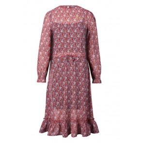 Retour jeans girls gebloemde jurk Kylie in de kleur brique