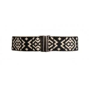 AI&KO kids girls elesta graphic belt riem in de kleur off white/zwart