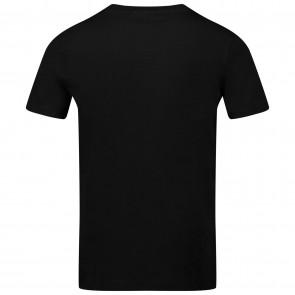 Calvin Klein boys kids logo pipin fitted t-shirt in de kleur zwart
