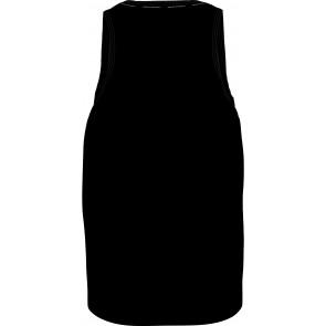 Calvin klein kids tank hemd met letter print in de kleur zwart