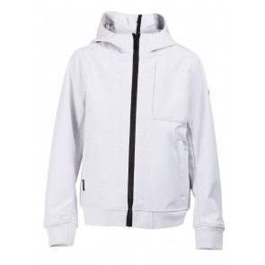 Airforce kids boys zomerjas softshell jacket chestpocket in de kleur wit