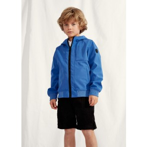 Airforce kids boys zomerjas softshell jacket chestpocket in de kleur kobalt blauw