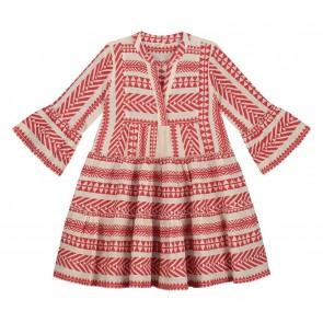 Devotion Girls jurk in de kleur rood