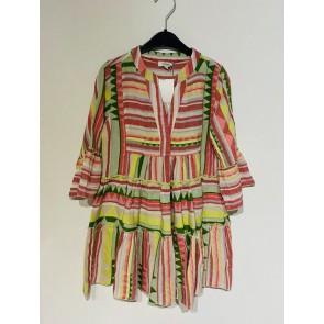 Devotion Girls jurk in de kleur multicolor