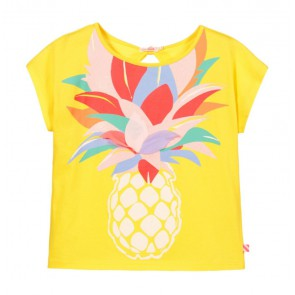 Billieblush t-shirt met ananas print in de kleur geel