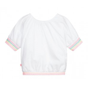 Billieblush top met borduursels in de kleur wit