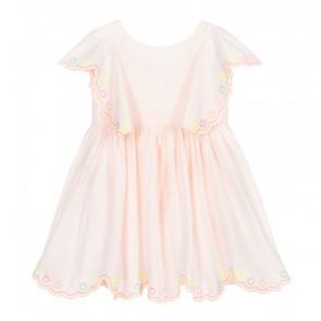 Billieblush jurk met borduursels in de kleur zachtroze