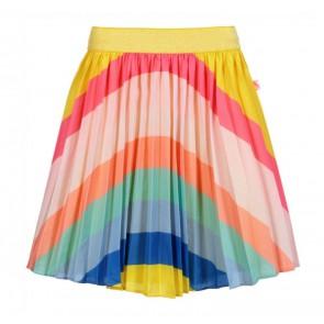Billieblush rok met regenboog kleuren in de kleur geel