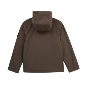 Hugo Boss kids logo jacket zomerjas in de kleur army groen