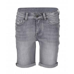 Indian blue jeans grey Andy short korte broek in de kleur grijs
