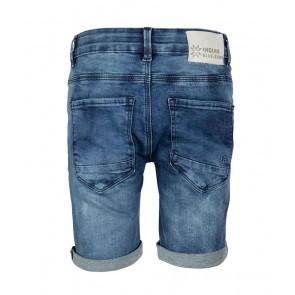 Indian blue jeans blue Dann short korte broek in de kleur jeansblauw