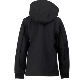 Airforce girls soft shell jacket summer softshell in de kleur zwart
