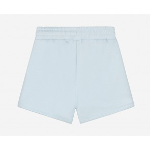 Nik en Nik girls short korte sweatpants broek in de kleur baby blue lichtblauw