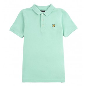 Lyle and Scott kids junior polo shirt in de kleur helder groen