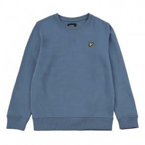 Lyle and Scott kids junior sweater trui in de kleur petrol blauw