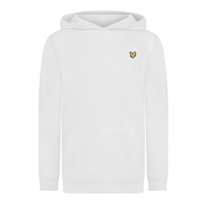 Lyle and Scott kids junior hoodie sweater trui in de kleur wit