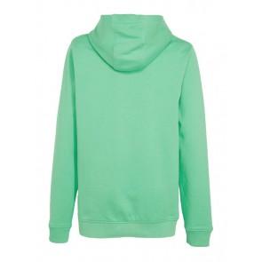 Lyle and Scott kids junior hoodie sweater trui met logo band in de kleur helder groen