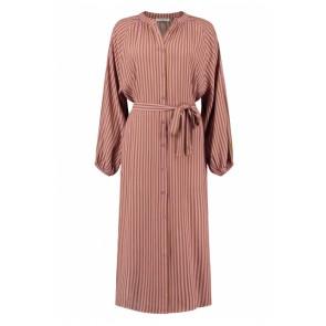 Circle of trust girls Aletta dress jurk met strepen in de kleur lila/bruin