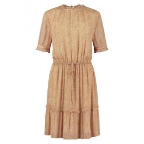 Circle of trust girls Loua dress jurk met safari dot in de kleur roestbruin