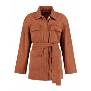 Circle of trust girls Aivey jacket jasje in de kleur roestbruin