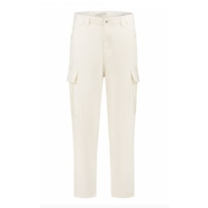 Circle of trust girl Riley cargo broek  in de kleur off white