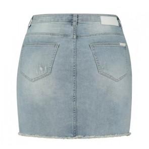 Circle of trust girls mimi skirt jeans rok spijker rok in de kleur jeansblauw