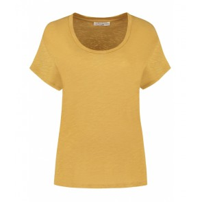 Circle of trust girls Archie tee t-shirt in de kleur okergeel