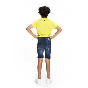 Retour jeans boys short korte broek Stephen in de kleur jeansblauw