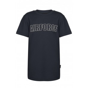Airforce kids outline t-shirt in de kleur donkerblauw