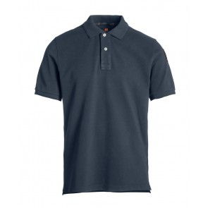 Airforce kids boys parajumpers polo shirt in de kleur donkerblauw