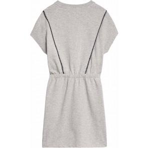 Calvin Klein kids girls jurk piping short dress in de kleur grijs