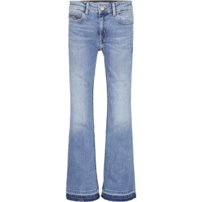 Calvin Klein kids girls infinite light flared jeans in de kleur jeansblauw
