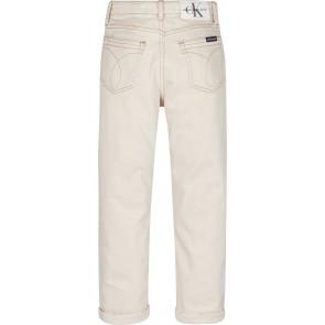 Calvin Klein kids girls jeans baggy broek in de kleur ecru