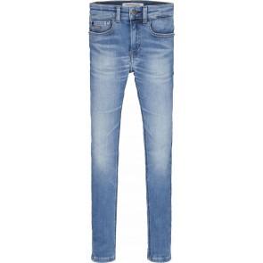 Calvin klein kids boys super skinny infinite jeans broek in de kleur jeansblauw