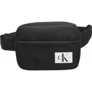 Calvin klein kids heuptasje monogram bag waistband in de kleur zwart