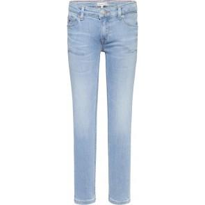 Tommy Hilfiger kids girls Nora skinny jeans broek in de kleur jeansblauw