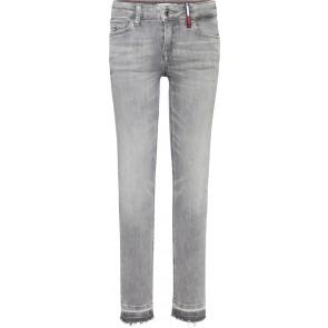 Tommy Hilfiger kids girls Nora skinny jeans broek in de kleur grijs