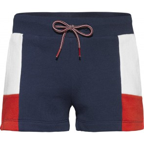 Tommy Hilfiger kids girls colorblock shorts twilight navy in de kleur blauw/rood